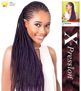 X-Pression Xpression Ultra Hair for Braiding Original Kanekalon Braids