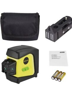 Firecore F335G 5-Point Laser, Green Beam Self-Leveling Alignment Laser With Magn