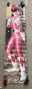 VTG Power Rangers Pink Kimberly door Poster 1994 Mighty morphine Printers Proof