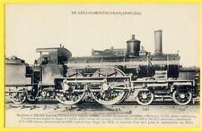 cpa France TRAIN LOCOMOTIVE Reseau Etat 1883 CHEMIN de FER Abri pour Mécanicien