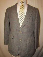 mens vintage beckwith wool tweed sports coat blazer M 42R brown