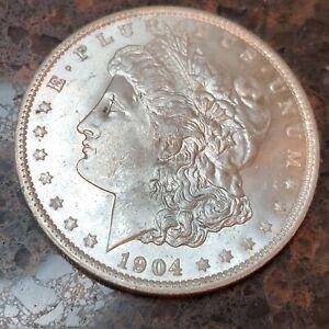 SASA 1904 O Morgan Dollar BU Choice Unc From Decker Collection o39