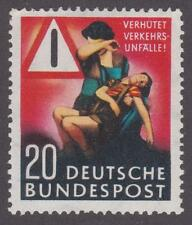 """Germany 1953  #694 """"Prevent Taffic Accidents"""" - MH"""