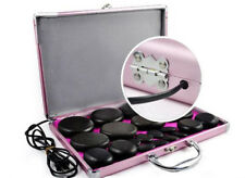 CE 20Pcs Energy Hot Stone Hot Basalt Stone Massage Therapy With Heating Box Kit