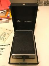 Accendino da tavola Braun Permanent TFG1 Reinhold Weiss Dieter Rams con scatola