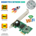 Gigabit Ethernet LAN PCI Express Network Controller Card 10/100/1000 Mbps