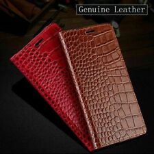 Phone Case Leather Crocodile Flip Cover For iPhone  6s X XR 7 8 Plus XS MAX
