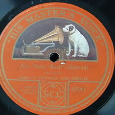 "78 RPM 12"" John McCormack & FRITZ KREISLER AVE MARIA, lato singolo"