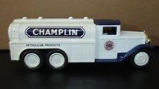 12553 Coin Bank 1992 Ertl 1930 Diamond T Fuel Tanker Champlin Nib