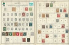 Argentina Stamp Collection 1858-1964 on 25 Minkus Pages