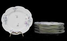 Serie de 8 assiettes en porcelaine de Limoges par Frank Haviland