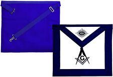 Blue Lodge Master Mason Masonic Square & Compass Embroidered APRON DMA-3500