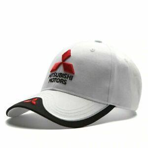 Men Women Baseball Hat Outdoor Travel Cap Car Racing Motor Hat For Mitsubishi
