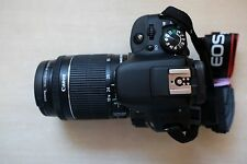 Canon EOS 100D DSLR Camera with EF-S 18-55mm IS STM Lens - Black