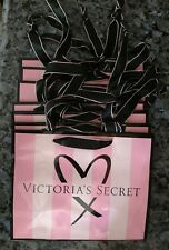Lot of 12 SMALL Victoria's Secret paper gift bags Pink with Iconic Stripes NEW