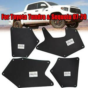 For Toyota Tundra Sequoia 07-20 Fender Liner Mud Flaps Guards Shield Apron Seal