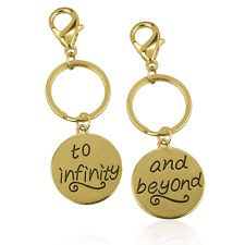 Bff Best Friends Forever Matching Keychain Lux Accessories To Infinity & Beyond
