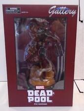"Deadpool Gallery Figure (2016) Marvel Diamond Select New PVC Diorama 9"" Statue"