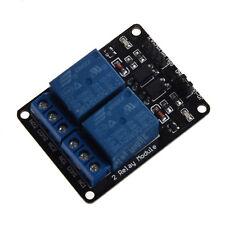 5V RELAIS MODULE 2 CANAUX POUR ARDUINO PIC ARM AVR DSP V9V7