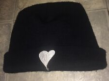 VTG 1990's Smashing Pumpkins Embroidered Mellon Collie SP Heart Beanie Cap Hat