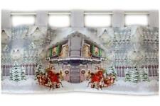 Bistro scheibengardinen im weihnachten stil ebay - Bistrogardine weihnachten ...