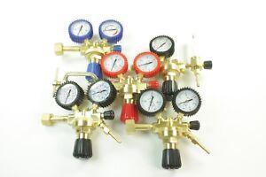 Druckminderer Druckregler Argon Sauerstoff Stickstoff Nitro Acetylen LPG/Propan