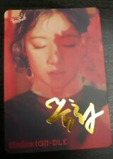 (G)I-DLE I Made Senorita ShuHua sign photocard YES! Mag. Official (Unofficial)