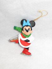 """""""Minnie Mouse"""" 1987 Disney Ornament - Mib"""