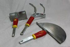 Wolf Garten Multi Change Tool Bundle Weeder Cultiweeder Lawn Edge Iron Draw Hoe