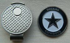 NEW NFL Dallas Cowboys Golf Ball marker + Magnetic Hat Clip