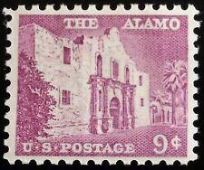 1956 9c The Alamo, San Antonio, Texas Scott 1043 Mint F/VF NH