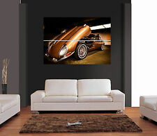 CLASSIC JAGUAR E-TYPE AUTO Giant WALL ART PRINT PICTURE POSTER