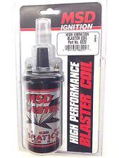 MSD 8222 MSD Ignition High Vibration Blaster Coil-Marine, Off Road 45,000V  -NEW