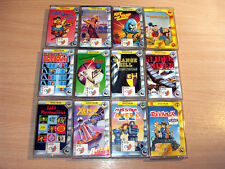 Sinclair ZX Spectrum - 12x Bug Byte games/Glider Rider/Mission Elevator/Xeno