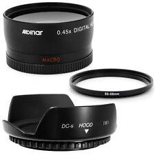 55mm Lens Hood Flower Petal,Wide Angle Lens for Sony SAL-1855 18-55mm f/3.5-5.6