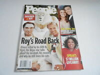 SEPT 27 2004 PEOPLE magazine (NO LABEL) UNREAD - SIEGFRIED & ROY accident
