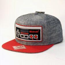 Nintendo NES Super Mario Bros Gaming Controller Heather Snapback Hat SB08NONCT