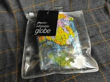 Paperchase inflatable Globe New in Packet World Map Ball