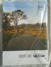 Volvo S80 range brochure MY 2016 printed 2015