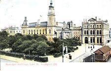 CD73.Vintage Postcard.Municipal Buildings,Lord St. Southport