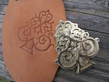 SEA SPADE Leather Bookbinding Finishing tool Stamp EMBOSSING die