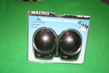 PORTABLE MINI HiFi SPEAKERS MATSUI MS-80 Brand New Boxed UNUSED UNWANTED GIFT