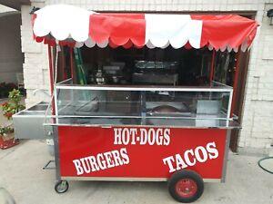 Hot dog, taco or buger cart!