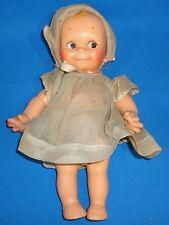 KEWPIE DOLL 12 INCHES TALL COMPOSITION JOINTED HIPS SHOULDERS HEAD EYES LEFT