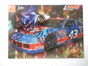 Richard Petty signed 1994 PRO SET POWER #43 STP Winston Cup Card #21 W/COA