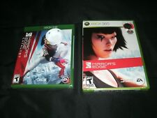 Mirror's Edge(Xbox 360/XBO) And Mirror's Edge: Catalyst(XBO) Brand New Sealed