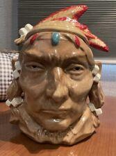"Western Americana ,""Mc Coy"" Indian Bust, #93 Cookie Jar"