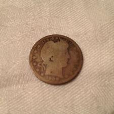 1908-D US Barber Quarter Coin