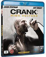 Crank 2 High Voltage Blu Ray (Region Free)