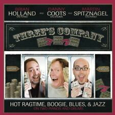 Martin Spitznagel - Three's Company: Hot Ragtime Boogie Blues & Jazz [New CD]